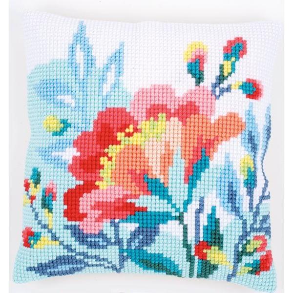 PN-0156953 Virágok 40x40 cm - 10650 Ft   E-kuckó kézimunka és ... 650864bdde